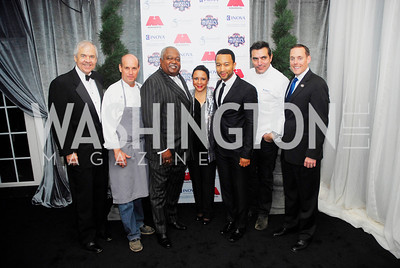 Knox Singleton,Todd Gray,William Newman,Sheila Johnson,John Legend,Todd English,Greg Bibb,March 31,2012, Benefit for Inova Healthy Generations held at Salamander Farm,Kyle Samperton