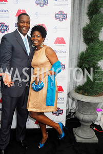 Rod Williams,Dazzerine Williams,,March 31,2012, Benefit for Inova Healthy Generations held at Salamander Farm,Kyle Samperton