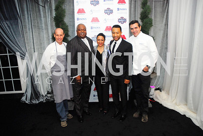 Todd Gray,William Newman,Sheila Johnson,John Legend,Todd English,March 31,2012, Benefit for Inova Healthy Generations, held at Salamander Farm,Kyle Samperton