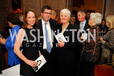 "Laura Ballman,Sam Patten,Deedy Ogden,November 8,2012,book party  for ''American Lady"" at the Residence of the French Ambassador,Kyle Samperton"