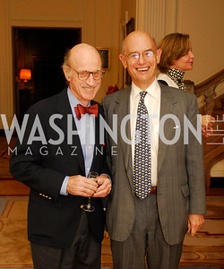"Finley Lewis, William Nitze,November 8,2012,book party  for ''American Lady"" at the Residence of the French Ambassador,Kyle Samperton"