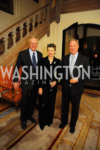 "Dana Westring,Georgina Horsey,Trevor Potter,November 8,2012,book party  for ''American Lady"" at the Residence of the French Ambassador,Kyle Samperton"