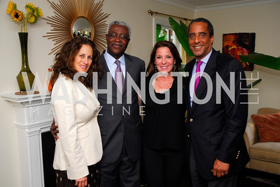 Julia Cohen,Koby Koomson, Kimball Stroud,David Mercer,,July 11,2012,Book Party for Vice -President John Dramani Mahama,'' My First Coup D'Etat''