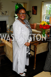 Dept Amb. Edith Hazel,July 11,2012,Book Party for Vice -President John Dramani Mahama,'' My First Coup D'Etat''
