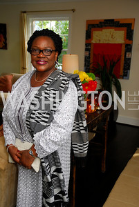 Dept .Amb. Edith Hazel,July 11,2012,Book Party for Vice -President John Dramani Mahama,'' My First Coup D'Etat''