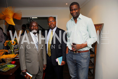 Hussein Collison,Rashid Ibrahim,Francis Kalitsi,July 11,2012,Book Party for Vice -President John Dramani Mahama,'' My First Coup D'Etat''