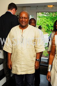 President John Dramani Mahama of the Republic of Ghana,July 11,2012,Book Party for Vice -President John Dramani Mahama,'' My First Coup D'Etat''