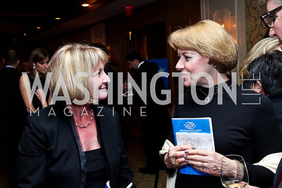 Ginny Barlow, Teresa Hoffman. Photo by Tony Powell. Boys and Girls Clubs of Greater Washington, Dinner and Talent Showcase. Four Seasons. November 14, 2012