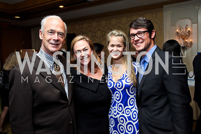 Michael, Katheryn, Casey, and Connor Hanley. Photo by Tony Powell. Boys and Girls Clubs of Greater Washington, Dinner and Talent Showcase. Four Seasons. November 14, 2012