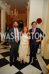 John Eggerton,Ellen Eggerton,Peter Matheson,July 27,2012,British Embassy Hosts Opening Ceremony Reception for the 2012 Olympics at the Residence of The British Ambassdor,Kyle Samperton