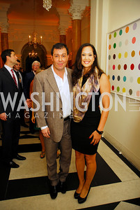 Julian Epstein,Ahnna Smith,,July 27,2012,British Embassy Hosts  Reception for the Opening Ceremony of the 2012 Olympics At The Residence of The British Ambassador,Kyle Samperton