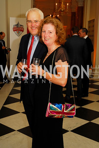 Bill Gibson,Diane Gibson,,July 27,2012,British Embassy Hosts  Reception for the Opening Ceremony of the 2012 Olympics At The Residence of The British Ambassador,Kyle Samperton