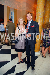 Tracey Churchill,Andrew Churchill,,July 27,2012,British Embassy Hosts  Reception for the Opening Ceremony of the 2012 Olympics At The Residence of The British Ambassador,Kyle Samperton