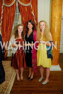 Olivia Howes,Jennifer Quinton, Natasha Howes,British Embassy Hosts Opening Ceremony Reception for the 2012 Olympics at the Residence of The British Ambassdor,Kyle Samperton