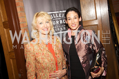 Dr. Joyce Hagel Silverman, Dr. Suzanne Kim Doud. Tom Bulleit, founder of Bulleit Bourbon, hosts a tasting party at the Georgetown Club.  Photo by Ben Droz.