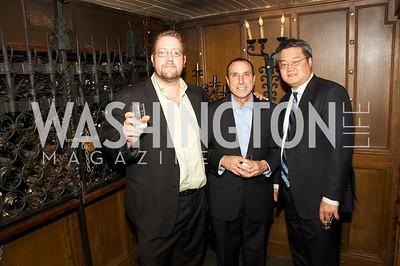 Peter Marino Rotondo, Hal Hindin, David Kim.