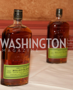 Tom Bulleit, founder of Bulleit Bourbon, hosts a tasting party at the Georgetown Club.  Photo by Ben Droz.