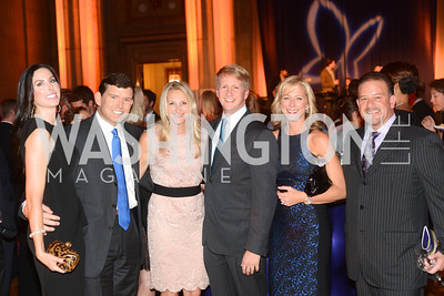 Amy Baier, Bret Baier, Carrie Marriott, David Marriott, Jean-Marie Fernandez, Raul Fernandez Butterfly Bash, Fair Chance, October 19, 2012, Mellon Auditorium, Photo by Ben Droz
