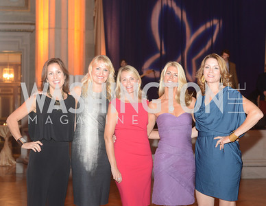 The Butterfly Bash leadership team Lucy McBride, Missy Walker, JoJo Spallone, Amanda Marshall, and Anne-Marie Finnell Butterfly Bash, Fair Chance, October 19, 2012, Mellon Auditorium, Photo by Ben Droz