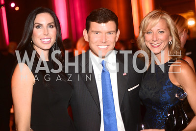 Amy Baier, Brett Baier, Jean-Marie Fernandez, Butterfly Bash, Fair Chance, October 19, 2012, Mellon Auditorium, Photo by Ben Droz