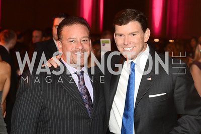 Honorary Chair, Raul Fernandez with Fox News' Bret Baier Butterfly Bash, Fair Chance, October 19, 2012, Mellon Auditorium, Photo by Ben Droz