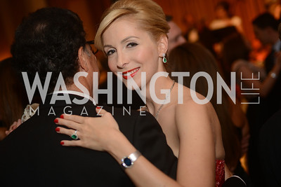 Alexandra N. Senyi de Nagy-Unyom,  Capital City Ball, The Washington Club in Dupont, Saturday November 17, 2012, Photo by Ben Droz.