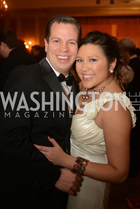 Jeff Barger, Quin Woodward Pu,  Capital City Ball, The Washington Club in Dupont, Saturday November 17, 2012, Photo by Ben Droz.