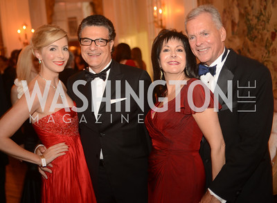 Alexandra N. Senyi de Nagy-Unyom, Luigi Galizia, Liz Sara, Bill Boczany,  Capital City Ball, The Washington Club in Dupont, Saturday November 17, 2012, Photo by Ben Droz.