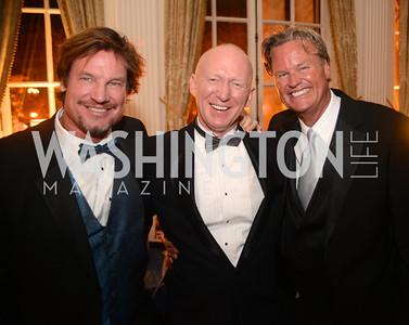 Jim Doan, John Dunford, Jeff Linney, Capital City Ball, The Washington Club in Dupont, Saturday November 17, 2012, Photo by Ben Droz.