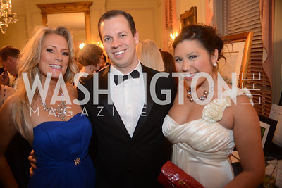 Tracey Laslo, Jeff Barger, Quin Woodward Pu,  Capital City Ball, The Washington Club in Dupont, Saturday November 17, 2012, Photo by Ben Droz.