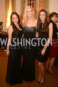 Nichole Devolites, Kathy Speck, Kate Michael,  Capital City Ball, The Washington Club in Dupont, Saturday November 17, 2012, Photo by Ben Droz.