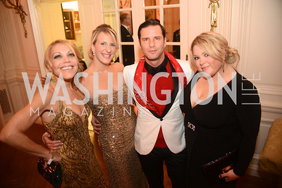 Wendy Gordon, Kimberly Robinson, Don Patron, Charlotte Garrett,  Capital City Ball, The Washington Club in Dupont, Saturday November 17, 2012, Photo by Ben Droz.