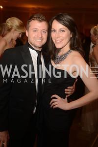 Charles Taret, Dana Zelman, Capital City Ball, The Washington Club in Dupont, Saturday November 17, 2012, Photo by Ben Droz.