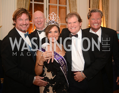 Jim Doan, Jon Dunford,  Lisa Spoden, Michael Kinklaar, Jeff Linney,  Capital City Ball, The Washington Club in Dupont, Saturday November 17, 2012, Photo by Ben Droz.