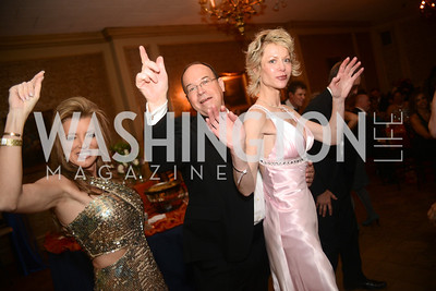 Susan Hinkle, Stuart Piper, Barbara Liles,  Capital City Ball, The Washington Club in Dupont, Saturday November 17, 2012, Photo by Ben Droz.