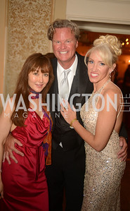 Deborrah Lindsay, Jeff Linney, Tanya Sabel,  Capital City Ball, The Washington Club in Dupont, Saturday November 17, 2012, Photo by Ben Droz.