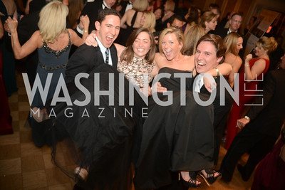 Jorge Delgado, Katherine Brennan, Katherine Branthoover, Kevin Doherty,  Capital City Ball, The Washington Club in Dupont, Saturday November 17, 2012, Photo by Ben Droz.