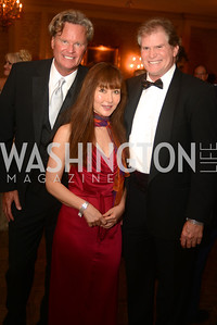 Jeff Linney, Woman, Michael Kinklaar,  Capital City Ball, The Washington Club in Dupont, Saturday November 17, 2012, Photo by Ben Droz.