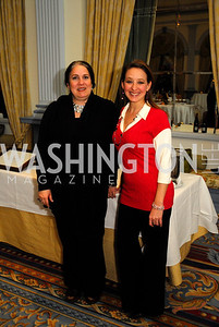 'Lia Braganza,Gina Parenti,January 19,2012,Capital Wine Festival Kick-Off at the Fairfax Hotel,Kyle  Samperton