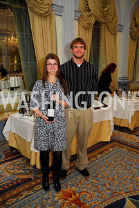 Sonya Ferrell,Kevin Goolsby,January 19,2012,Capital Wine  Festival Kick-Off at the Fairfax Hotel,Kyle  Samperton