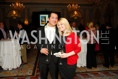 Gil Gonzales,Corrine Price,January 19,2012,Capital Wine  Festival Kick-Off at the Fairfax Hotel,Kyle Samperton
