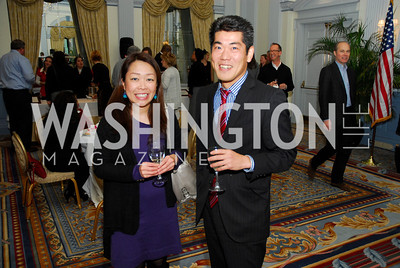 Chiharu  Saito,Ken Osaka,January 19,2012,Capital Wine  Festival Kick-Off at the Fairfax Hotel,Kyle Samperton