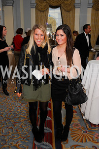 Vicki Calandra,Kate LaPearch,January 19,2012,Capital Wine  Festival Kick-Off at the Fairfax Hotel,Kyle  Samperton