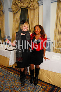 Erin Hollrath,Lisa Pope,January 19,2012,Capital Wine  Festival Kick-Off at the Fairfax Hotel,Kyle  Samperton
