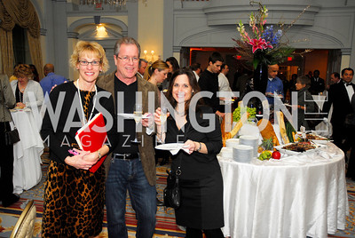 Denise Benoit,Chris Cramer,Nancy Stevens,January 19,2012,Capital Wine  Festival Kick-Off at the Fairfax Hotel,Kyle Samperton