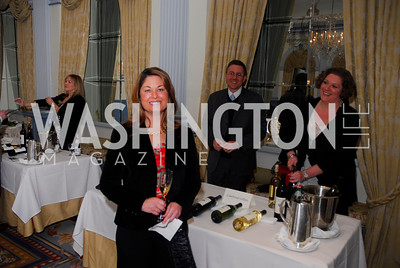 Jessica Mumbulo,,January 19,2012,Capital Wine  Festival Kick-Off at the Fairfax Hotel,Kyle Samperton