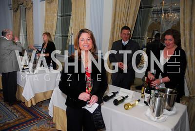 Jessica Mumbulo,,January 19,2012,Capital Wine  Festival Kick-Off at the Fairfax Hotel,Kyle Samperton