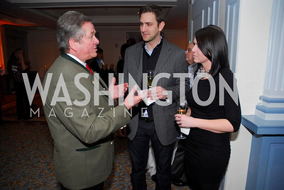 Reinhold Schulz.Adam Palmer,Jessica Palmer,January 19,2012,Capital Wine Festival  Kick-Off at the Fairfax Hotel,Kyle Samperton