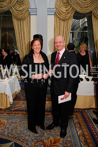 Audrey Johnson,Stephen Johnson,January 19,2012,Capital Wine  Festival Kick-Off at the Fairfax Hotel,Kyle Samperton