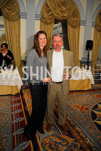 Maureen Dunn,Pete Dunn,January 19,2012,Capital Wine  Festival Kick-Off at the Fairfax Hotel,Kyle Samperton